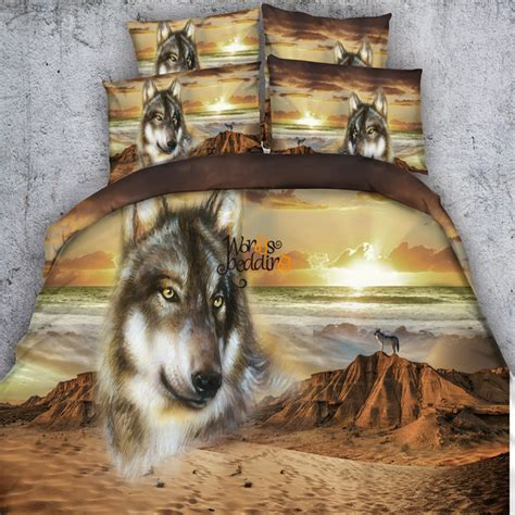 wolf bedding popular wolf bedding sets buy cheap wolf bedding sets lots