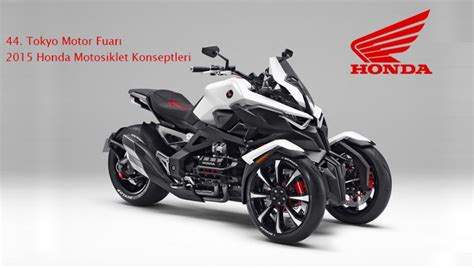 tokyo motor fuari  honda motosiklet konseptleri