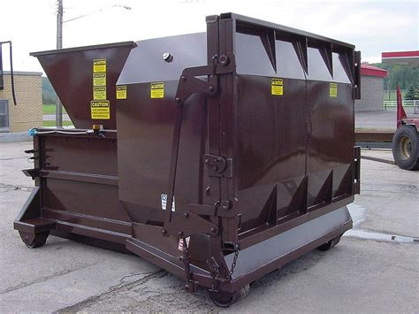 used trash compactor small self contained compactor nedland
