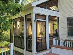 Screen Porch Designs For Houses by Screened Porch Sanctuary Traditional Porch Chicago
