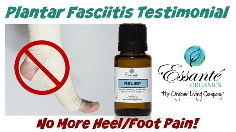 How To Get Usda Certified plantar fasciitis heel foot pain relief essential oil