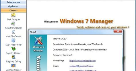 free full version download manager for windows 7 yamicsoft windows 7 manager 4 2 3 incl crack and serial