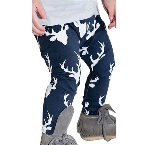baby leggings pattern nz toddler kids baby boys girls deer pattern bottom leggings