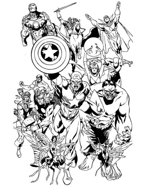coloring pages for marvel avengers get this avengers coloring pages marvel superheroes