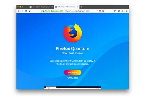 Baterai Quantum mencoba firefox quantum browser generasi baru mozilla urbandigital