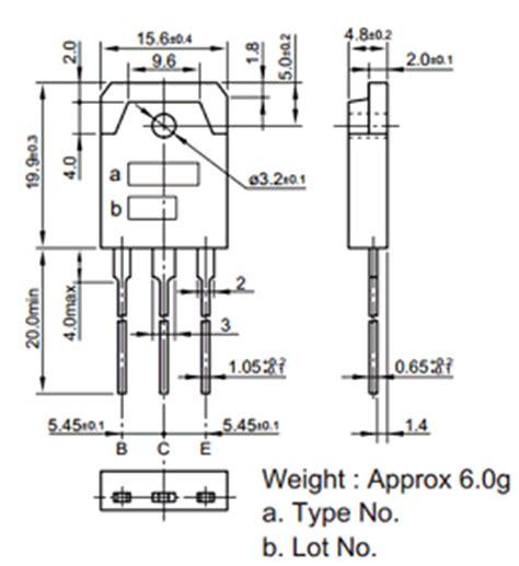 Transistor M1661s c3679 datasheet c3679 pdf pinouts circuit sanken
