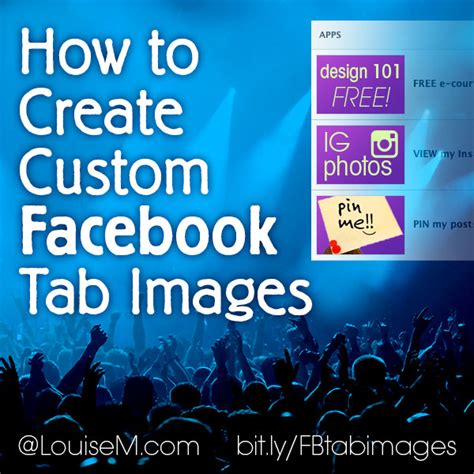 how to make a fan page on facebook how to create custom tab images for your facebook timeline