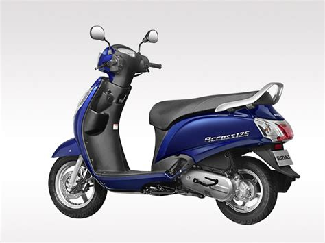 Suzuki Acess 125 Suzuki Access 125 Special Edition To Be Launched On Sept