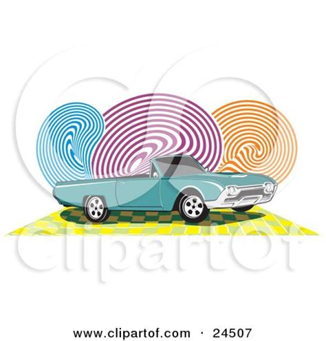 royalty free stock illustrations of convertibles by david
