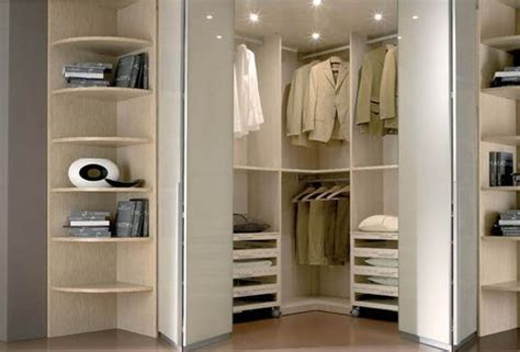 corner walk in wardrobe faer ambienti new home bedroom