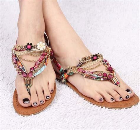 Special Sandal Flat Summer Merah awesome flat sandals summer wear sandals new sandal