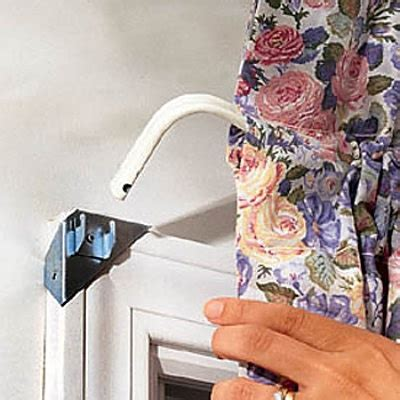 instant curtain rod bracket sets instant curtain rod bracket sets