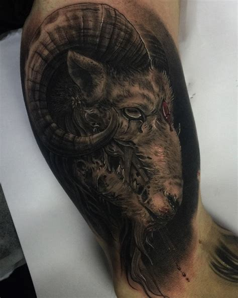 ram tattoo design ram sacrifice best ideas gallery