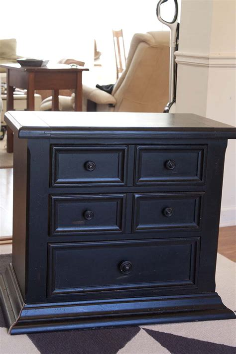 How To Make A Nightstand by How To Turn An Nightstand Into A Bathroom Vanity Part 2