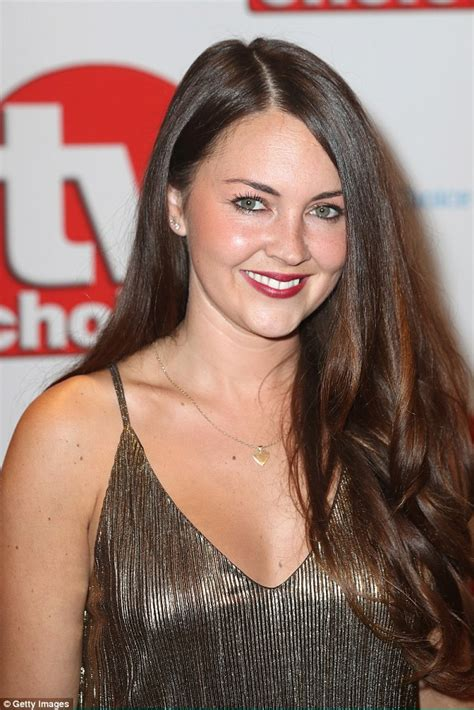 actresses with brown hair that play on soap operas lacey turner scoops up best soap actress at the tv choice