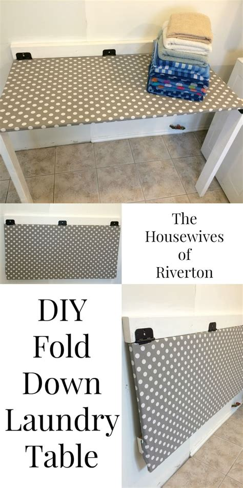 diy laundry folding table 25 best ideas about diy ironing board on