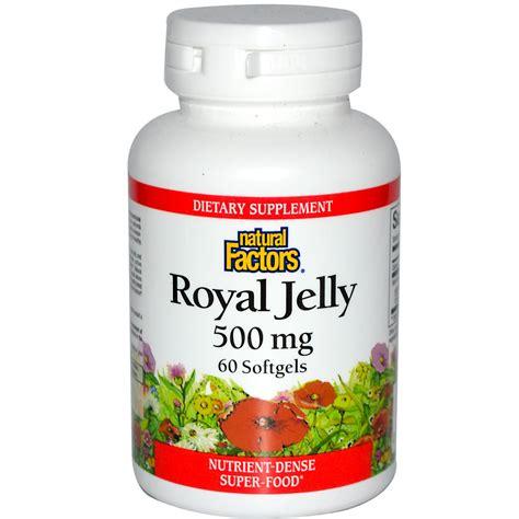 Narural Royal Jelly factors royal jelly 500 mg 60 softgels iherb