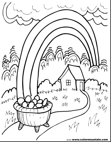 pot of gold coloring page rockthestockreviews co