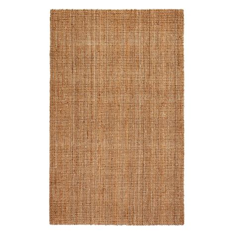 Anji Mountain Andes Brown 2 Ft 6 In X 12 Ft Jute Area 6 Jute Rug
