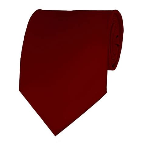 solid color neckties burgundy neckties solid color ties stanard size