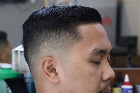 short side swept hairstyles fade haircut men s side swept hairstyle for medium length hair men s