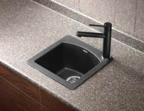 Best Kitchen Sink Faucets Diamond Mini Bar Sink In Silgranit Sinks Other