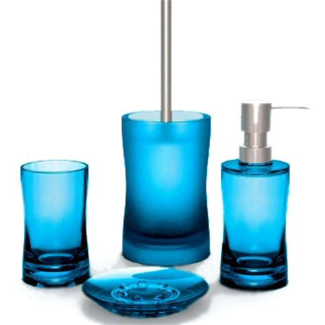 aqua coloured bathroom accessories modern bright colored bath accessories