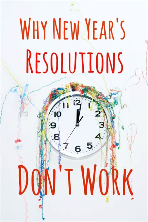 new year why why new year s resolutions don t work
