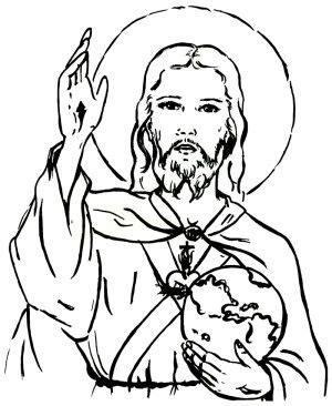 imagenes de jesus para imprimir imagen del sagrado corazon de jesus para imprimir