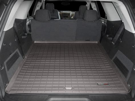cargo mat for 2017 gmc terrain weathertech cargo liner trunk mat for gmc acadia limited