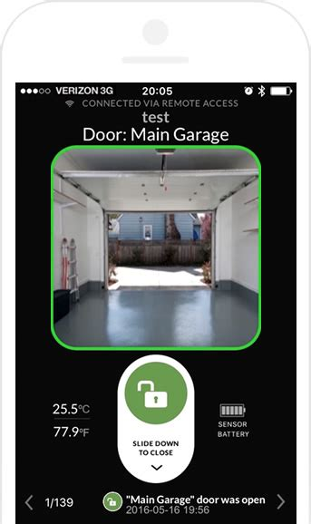Gogogate 2 The Easy Way To Open Your Garage Door Or Gate Garage Door Iphone App