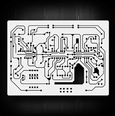 Circuit Board 2 Airbrush Stencil Template Airsick Ebay Circuit Board Template