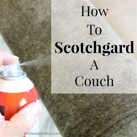 Scotch Guard Microfiber by How To Scotchgard A Sofa Scifihits