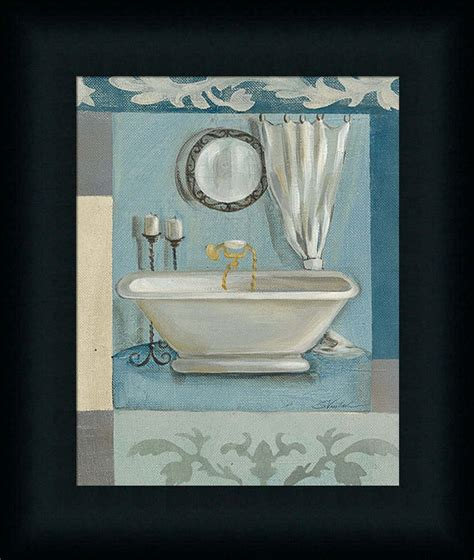 bathroom framed prints antique bath ii silvia vassileva spa bathroom d 233 cor framed