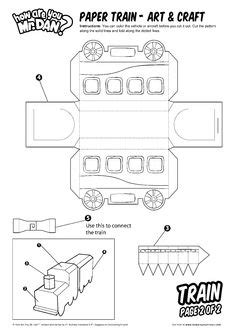 printable paper train template templates on pinterest favor boxes box templates and