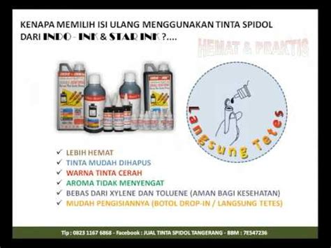 Jual Tinta Spidol by Jual Isi Ulang Tinta Spidol Tangerang
