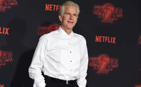 matthew modine first movie stranger things 2 millie bobby brown winona ryder attend