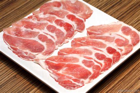 pork sections hong kong hotpot 香港热锅 telawi square bangsar