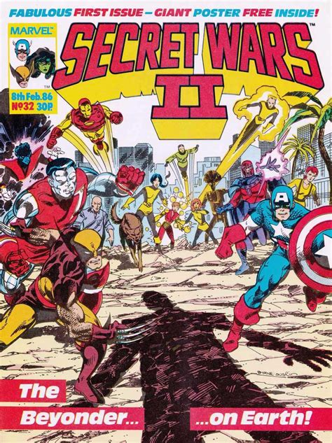 secret wars secret wars b01bl1e3nq secret wars ii uk vol 1 32 marvel database fandom powered by wikia