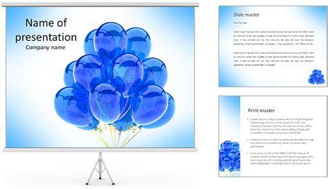 balloons blue translucent happy birthday