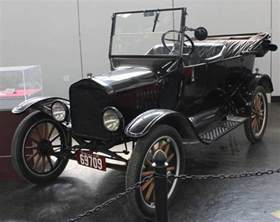 1924 ford model t touring cars