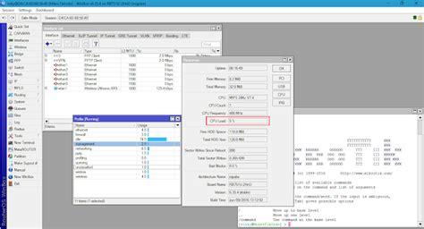 Mikrotik Rb750 2 Port Error Yang Normal cara memperbaiki mikrotik yang sering ngehang dengan