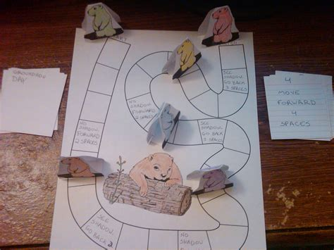 ideas for crafts to make make a groundhogs day board crafts idea for