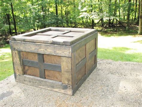 the multi functional rustic ottoman coffee table coffe