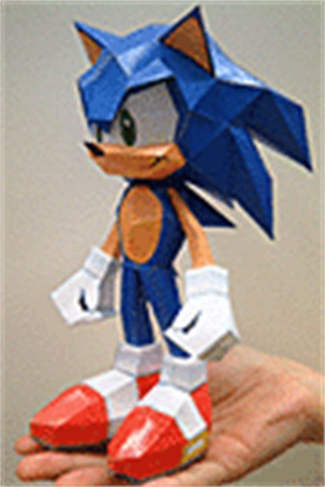 Sonic Origami - papercraft origami and more sonic the hedgehog papercraft