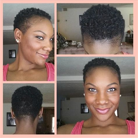 hairstyles for short hair with thin edges tapered twa naturalhairfanatic