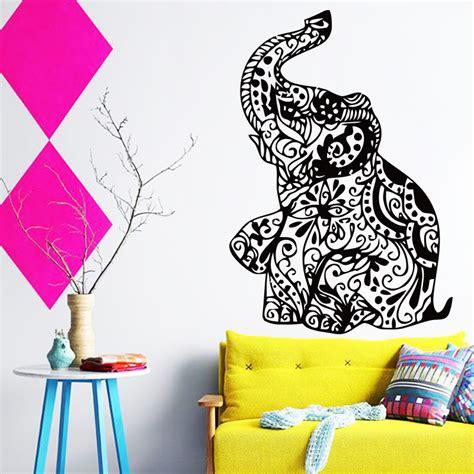 new design cheap home decoration vinyl elephant