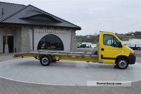 Auto Master by Renault Master Auto Laweta 2004 Traffic Construction Truck