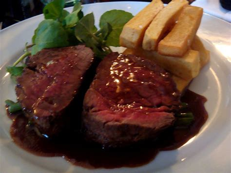 behind the french menu chateaubriand steak and chateaubriand the man ordering a chateaubriand