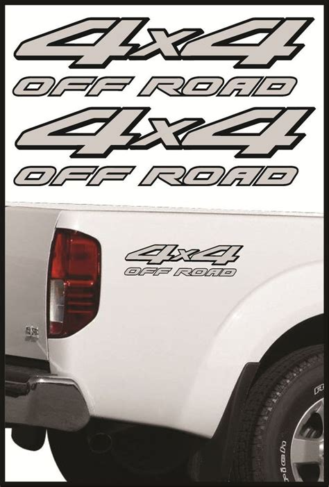 nissan frontier decal 4x4 offroad decals truck sticker decal nissan frontier 2